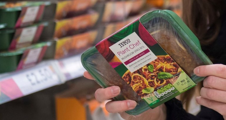 Tesco to boost meat-free sales by 300% under new sustainability measures