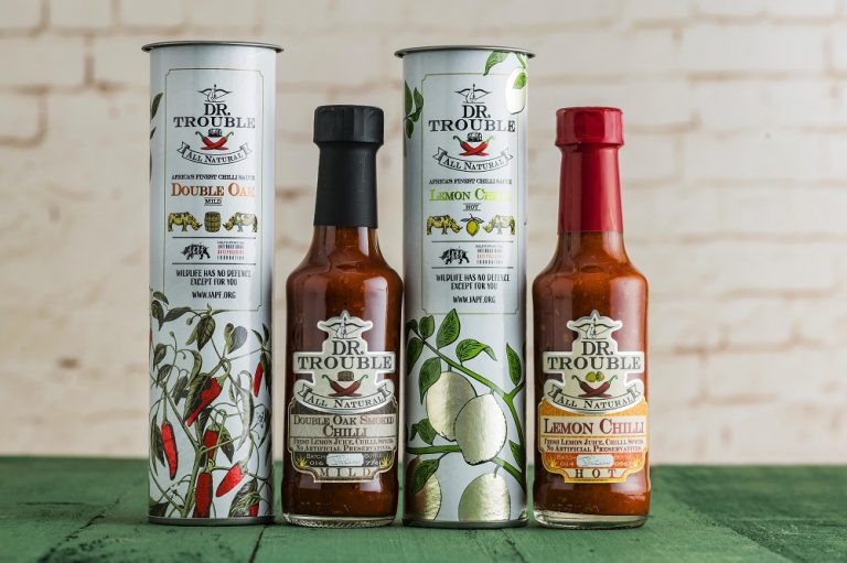 Dr Trouble launches limited edition bottles to help combat poaching