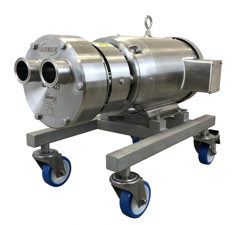 Admix introduces liquid ring pump for wet applications