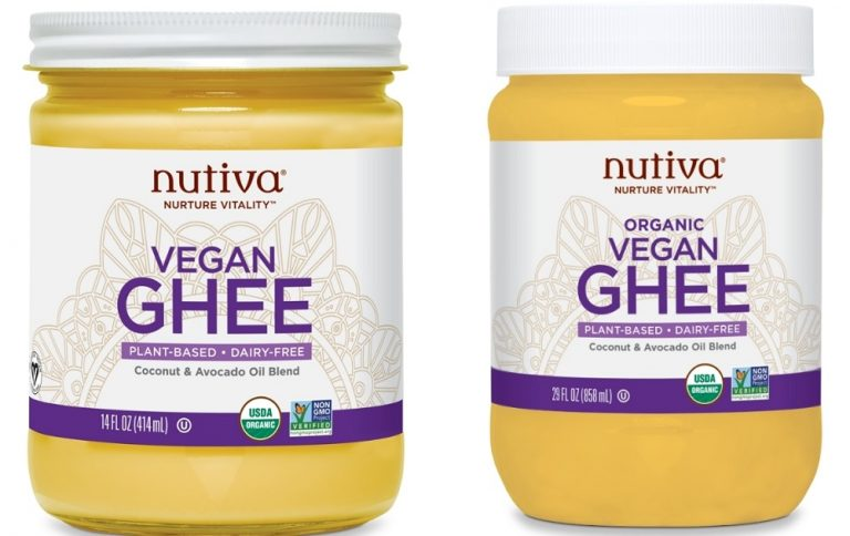 Nutiva launches plant-based ghee