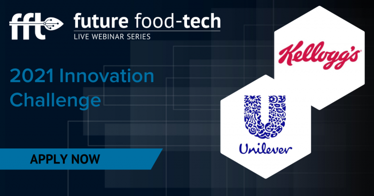 Future Food-Tech announces Innovation Challenge 2021 with Kellogg Company and Unilever