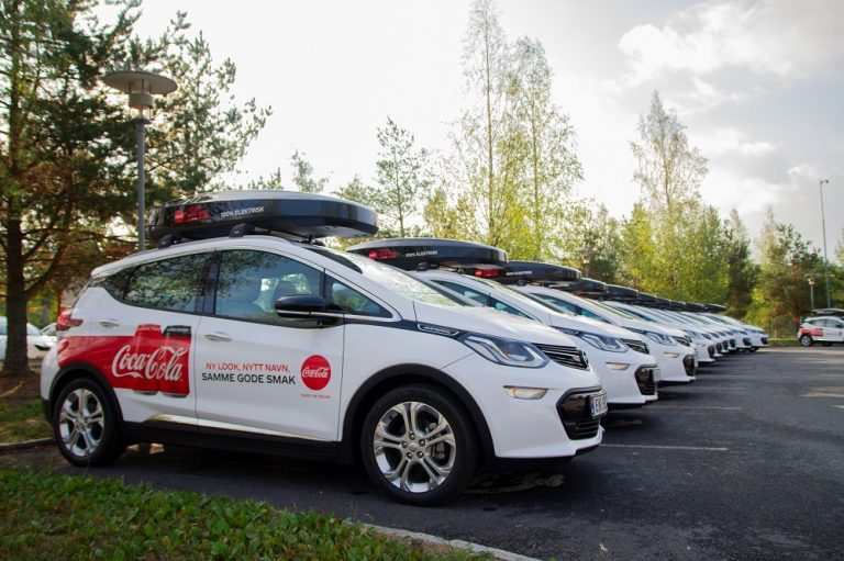 Coca-Cola European Partners joins EV100 initiative