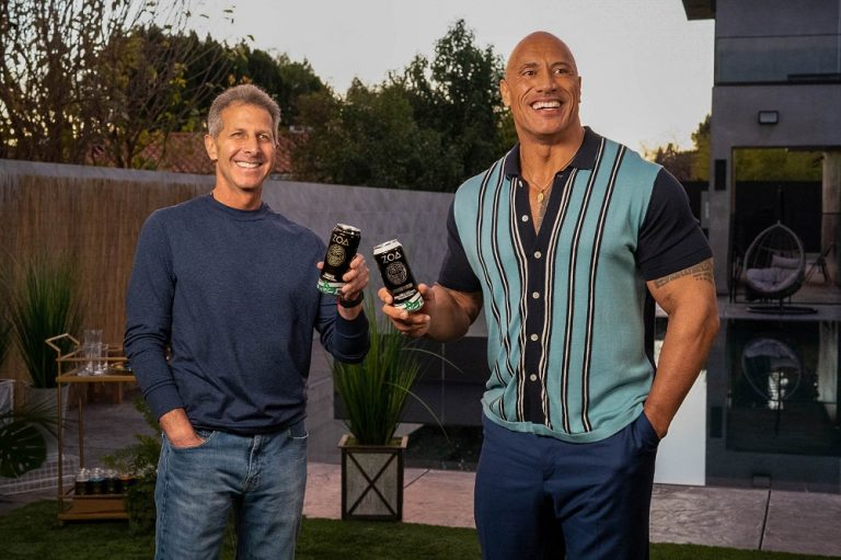 Dwayne Johnson one fourth of brand behind first-of-its-kind energy drink