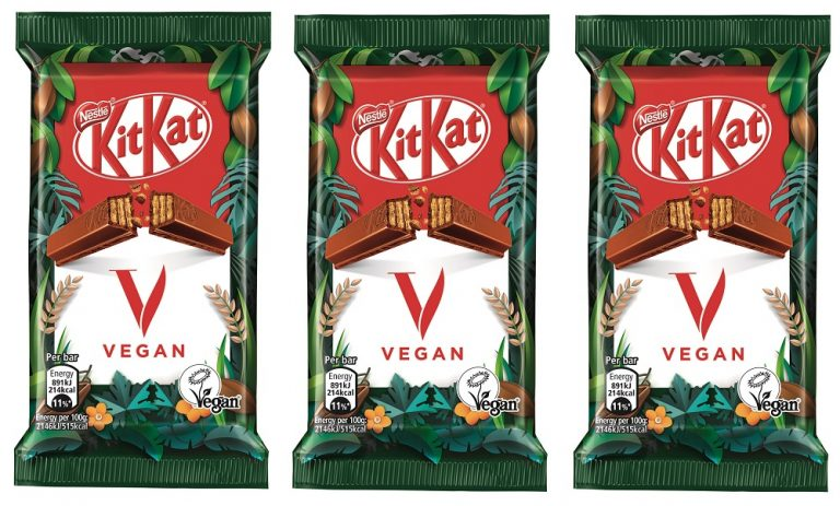 Nestlé launching vegan KitKat