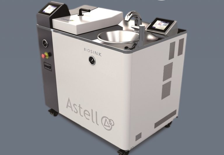 Astell Scientific release a range of wastewater-sterilising sinks