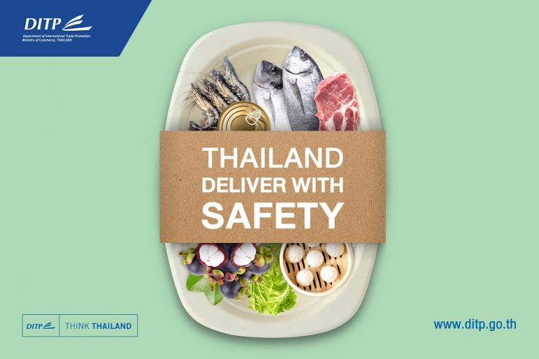 Campaign launches to boost value of Thai food exports post-COVID