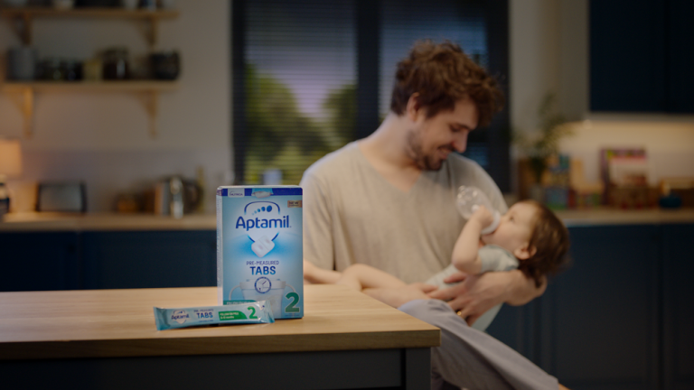 Danone launches UK's first pre-measured tab formula milk