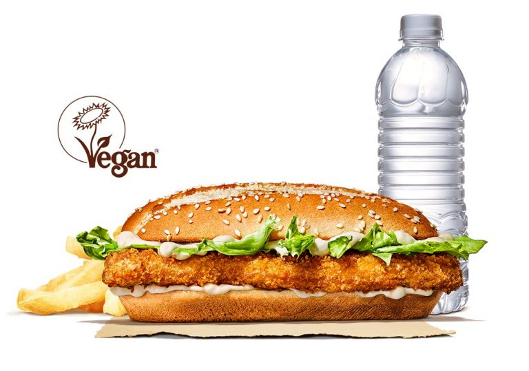 Burger King adds vegan 'chicken' Burger to UK menu