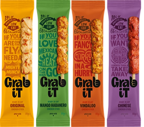 Snacking never tasted so good: say hello to the new Grab It