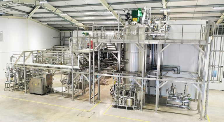 First commercial production in Biocatalysts' new enzyme manufacturing facility