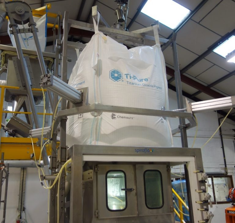 Spiroflow promotes safe handling and containment solutions in advance of TiO2 regulations