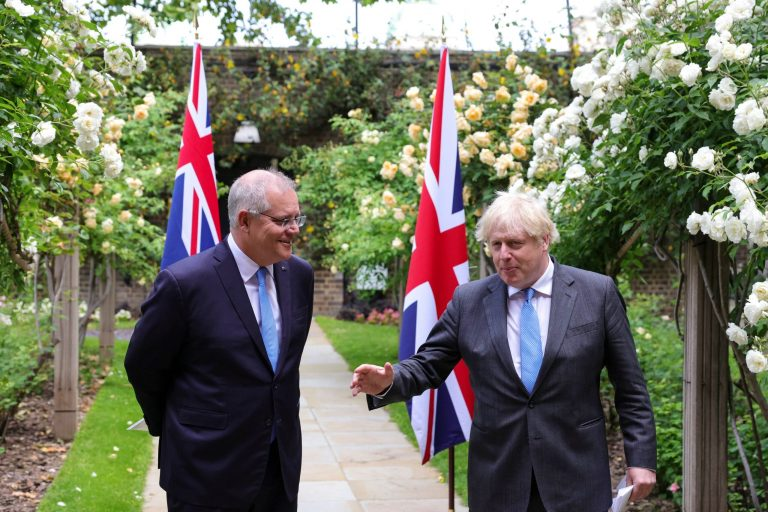 UK agrees major free trade agreement with Australia
