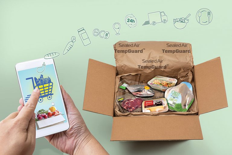 Driving e-grocery sales by taking a total system approach to food packaging