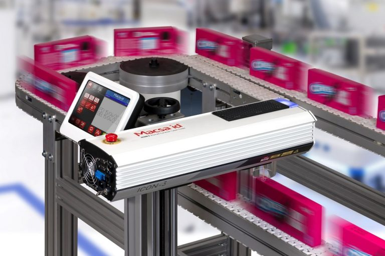 Macsa ID UK launches new iCON 3 small character laser coder