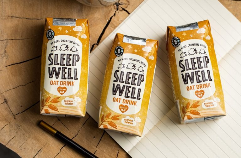 Sleep Well's oat drink listed exclusively in Holland & Barrett UK and Ireland stores