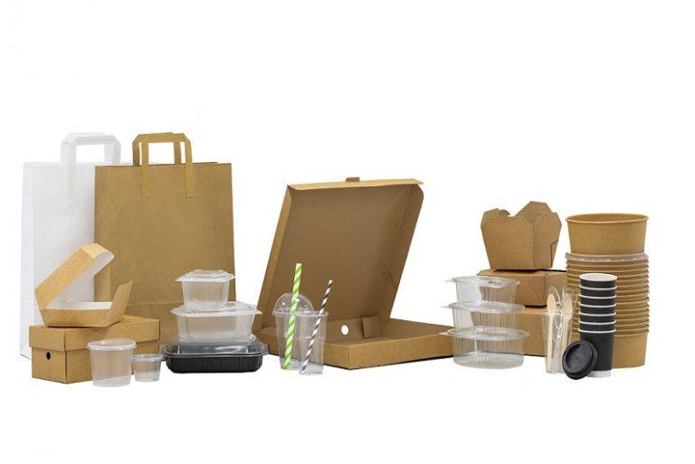 Kite reveal takeaway food packaging range